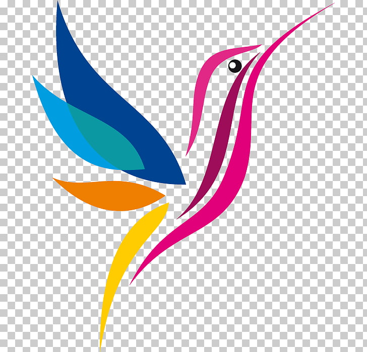 Hummingbird Logo Png - Hummingbird Logo Drawing, others, red and multicolored bird PNG ...