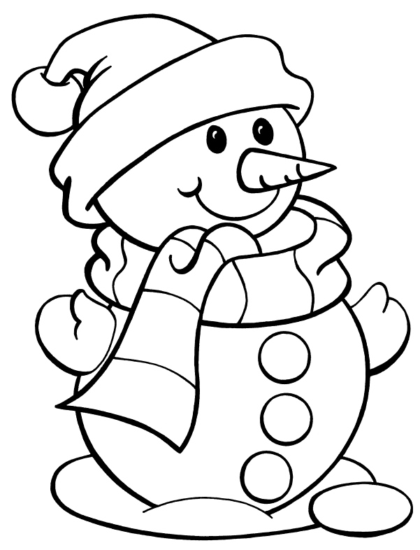 Cute Snowman Coloring Pages Png Free Cute Snowman Coloring Pages Png Transparent Images 85420 Pngio