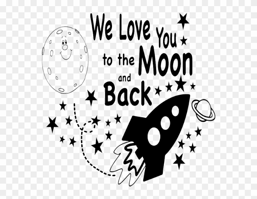 I Love You To The Moon And Back Png Free I Love You To The Moon And Back Png Transparent Images 64584 Pngio