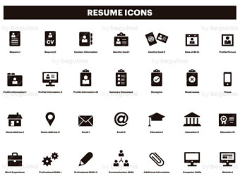 Icon For Resume 40651 Free Icons Libr 1149632 Png Images Pngio