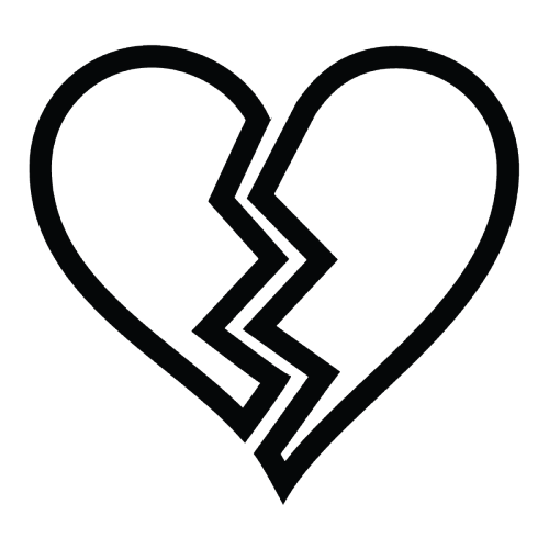 Heartbroken Png - ICONS FOR LIFE