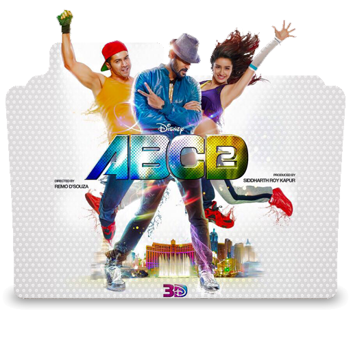 Abcd 2 Png - Icons Planet: ABCD 2 (2015) Hindi Movie Icon 3