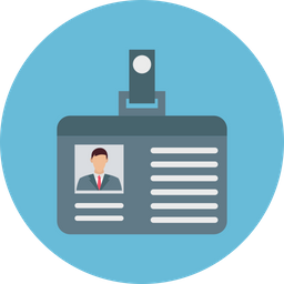 Id Card Icon Of Rounded Style Availabl Png Images Pngio
