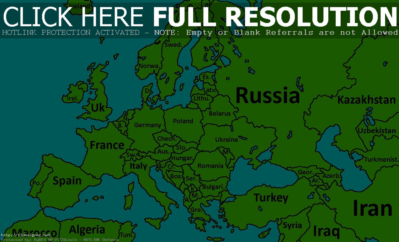Labeled Europe Map Png & Free Labeled Europe Map.png ...
