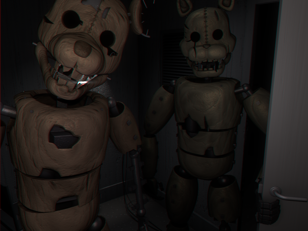 Rat And Cat Png - Image - RAT and The Cat in Cam 12.png | Five Nights at Candy's Emil Macko  Wikia | FANDOM powered by Wikia