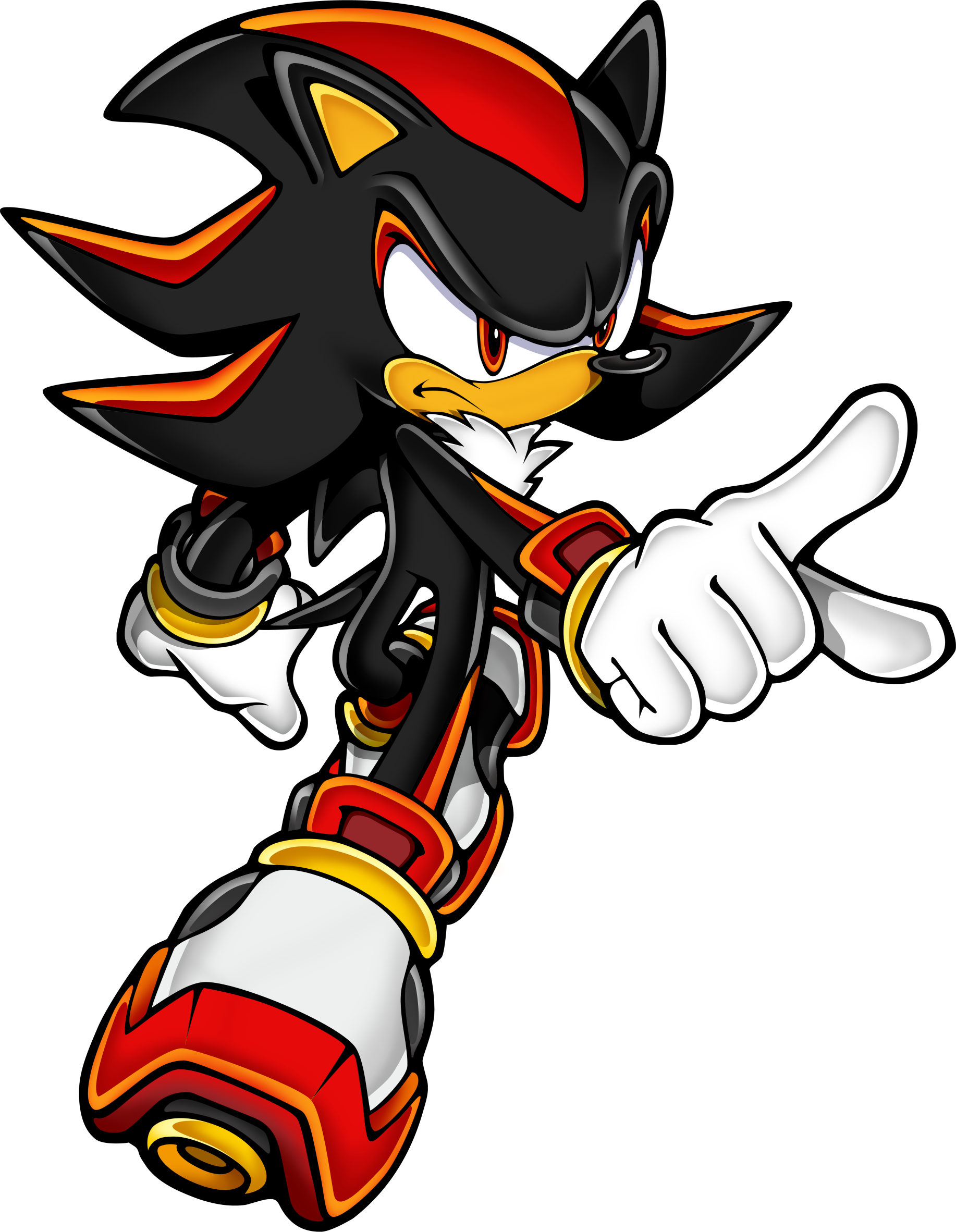 Image Sonic Art Assets Dvd Shadow Th 475247 Png Images Pngio