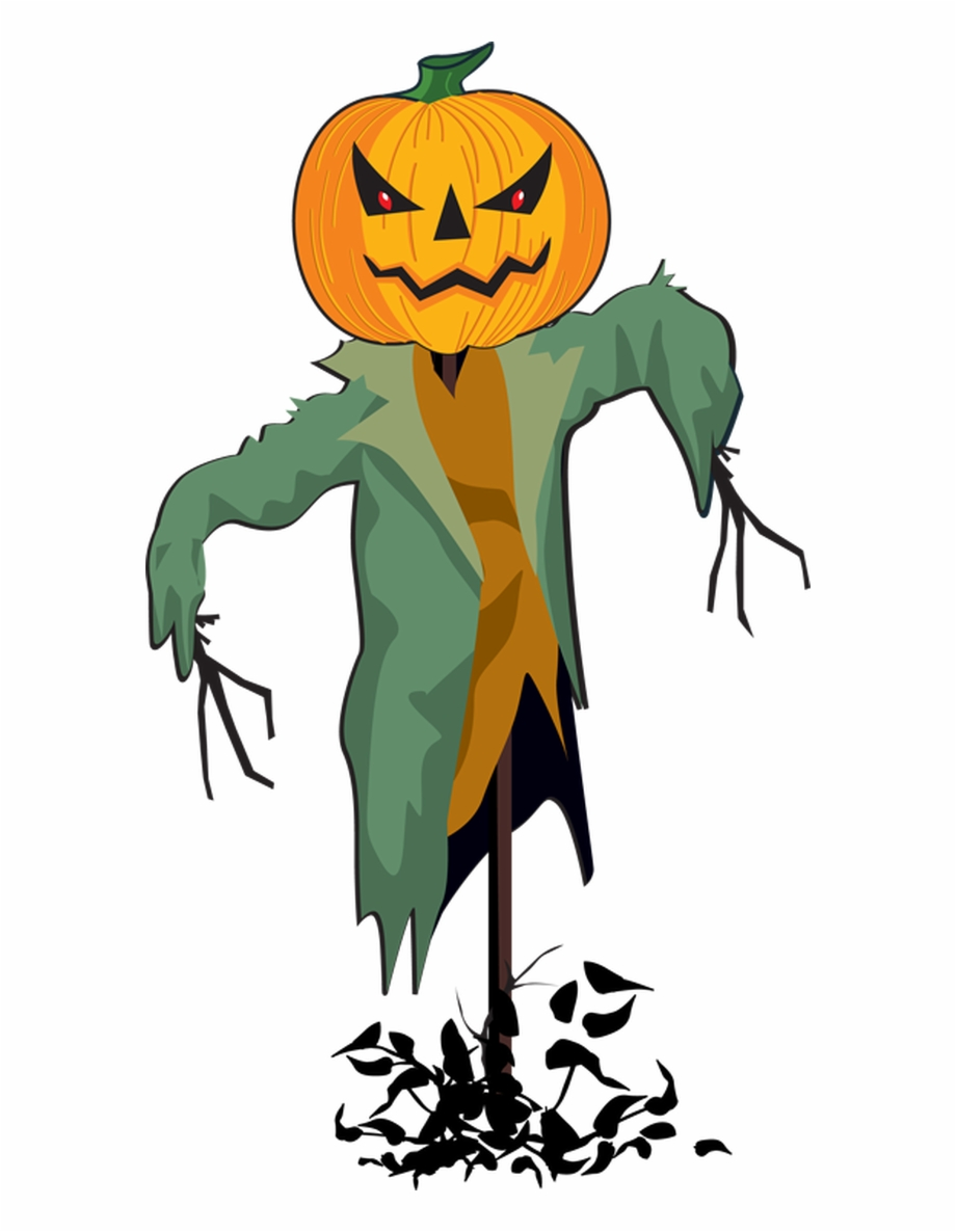 Scarecrows And Pumpkins Png - Image Transparent Download Free Clipart Pumpkin - Halloween ...