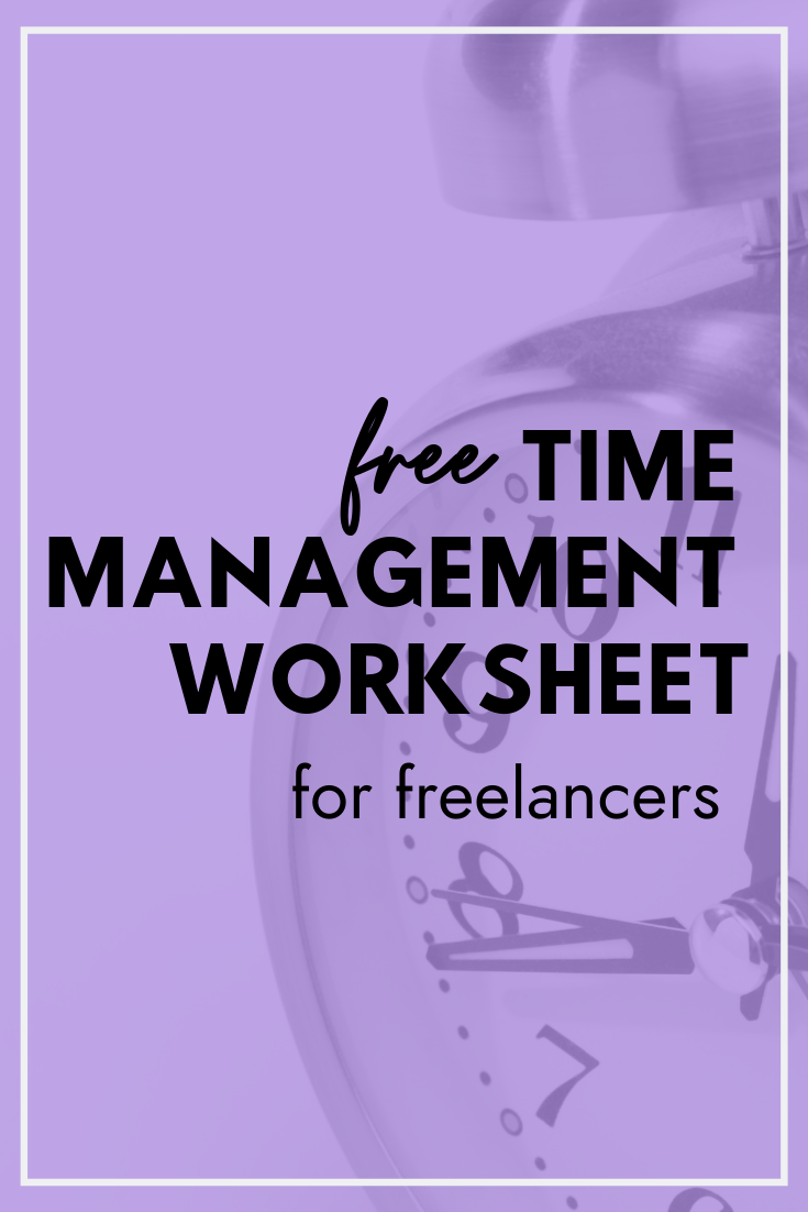 Productivity Worksheet Png - Improve your time management and productivity with this Time ...