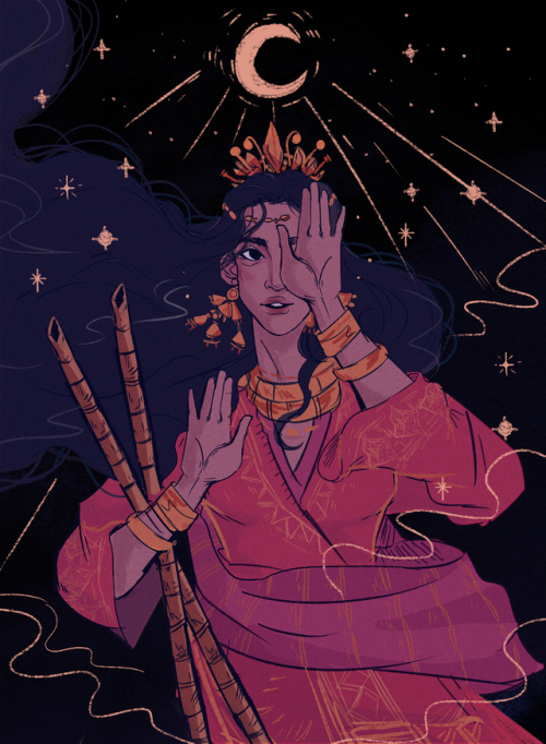 Philippine Mythology Png - In ancient Philippine mythology, Mayari is the one-eyed moon ...