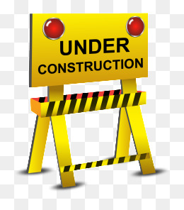 Under Construction Png - In the construction barricades icon