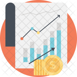 Income Growth Icon Of Flat Style Avail Png Images Pngio