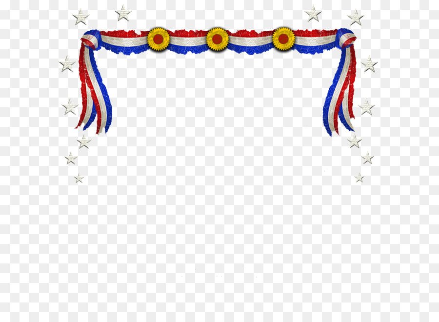 Memorial day banner. Png free transparent