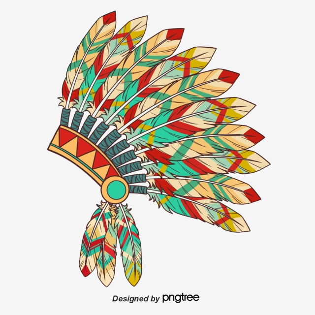Indian Head Dress Png - Indian Feather Headdress, Boho, Indian, Indian Headdress PNG ...