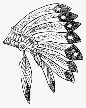 Indian Head Dress Png - Indian Headdress PNG Images | PNG Cliparts Free Download on SeekPNG