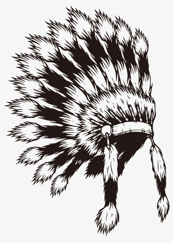 Indian Head Dress Png - Indian Headdress Vector, Indians, Headwear PNG and Vector with ...