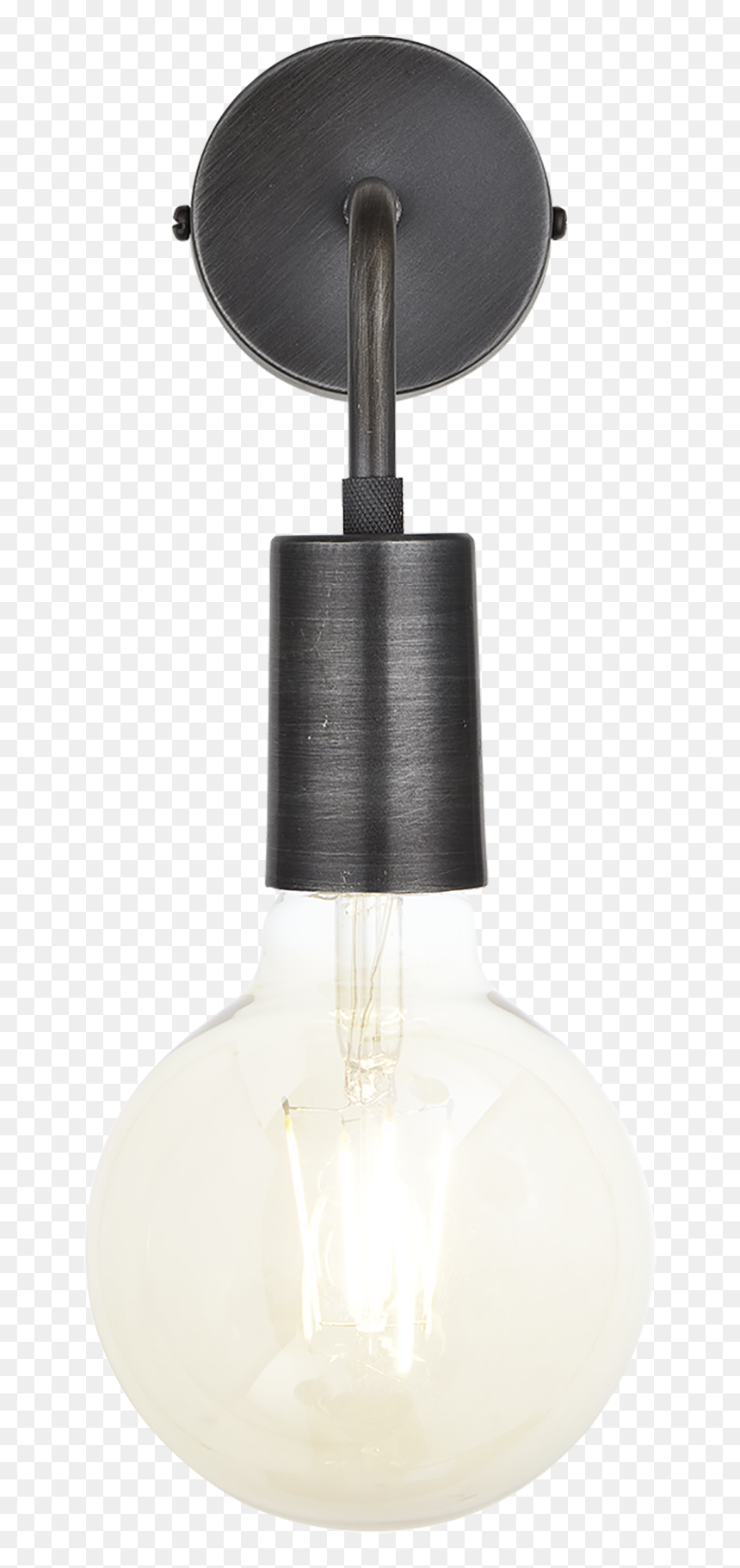 Industville Png - Industville Sleek Edison Wall Light, HD Png Download - vhv