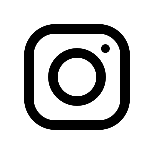 Instagram Black Logo Png - Instagram Icon Black And White Png #88027 - Free Icons Library