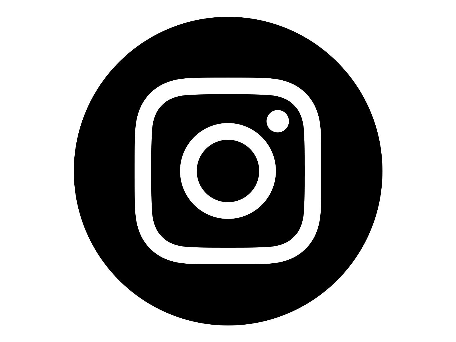 Instagram Black Logo Png - Instagram Icon Black And White Png #88047 - Free Icons Library