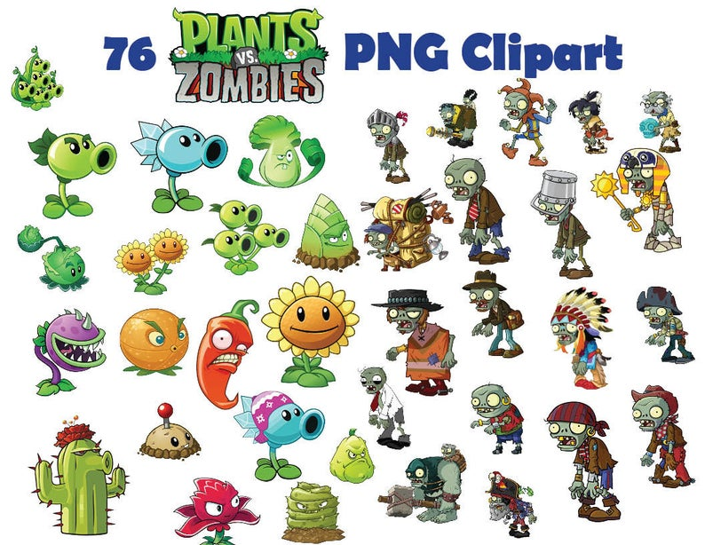 Plants Vs Zombies Clipart Free