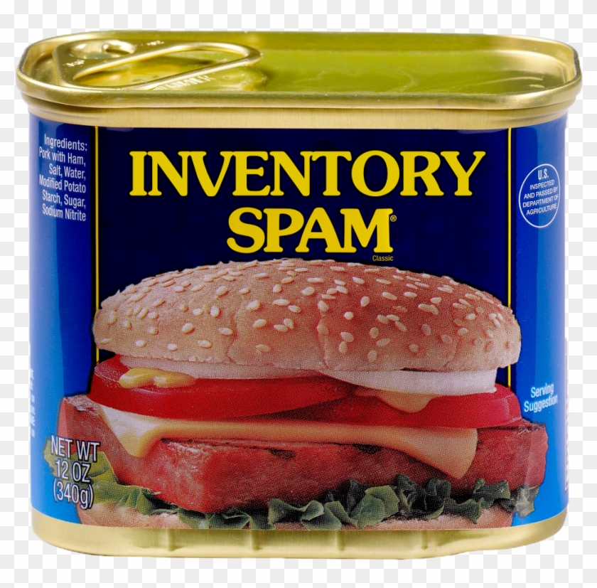Image Spam Png - Inventory Spam Mod - Spam Can Png Clipart (#3474829) - PikPng