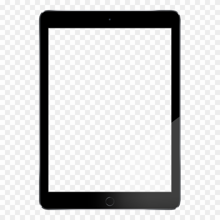 Cool Pngs For Ipad Air - Ipad Air Frame Png - Mobile Phone Template Png Clipart (#3804374 ...