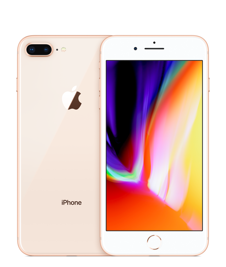 Applecom Png - iPhone 8 Plus 64GB Gold (GSM) AT&T - Apple