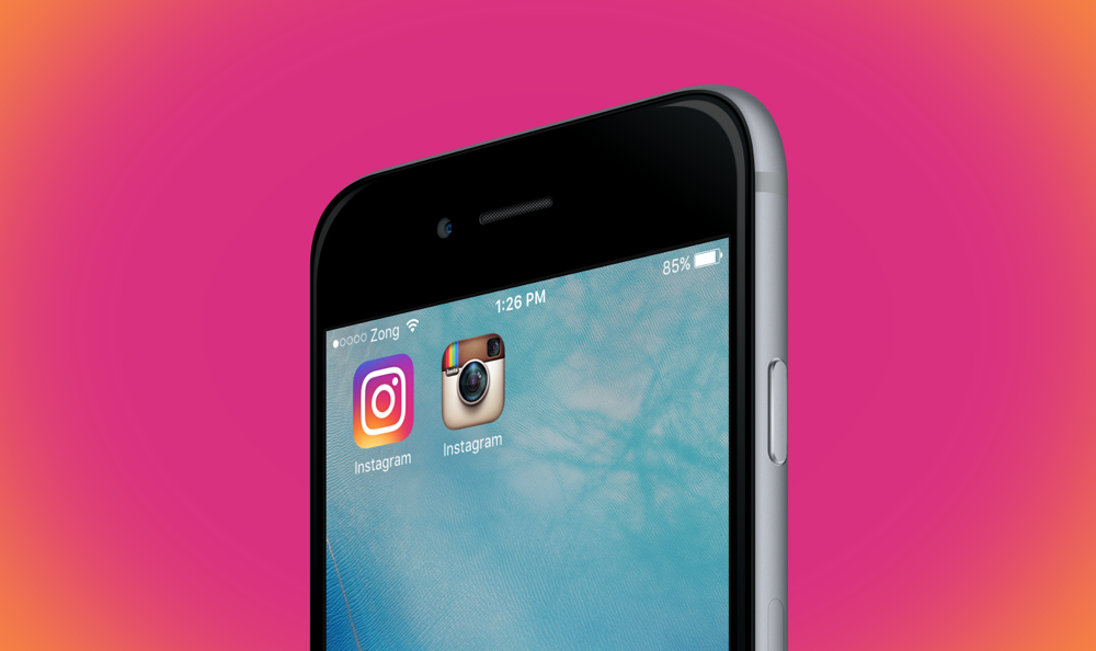Old Ios Png - Iphone Instagram Icon Png #23724 - Free Icons Library
