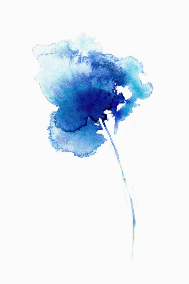 Blue Abstract Flowers Png - Iris Painting, Iris Poster, Blue Flowers, Blue Flower, Blue Flower ...