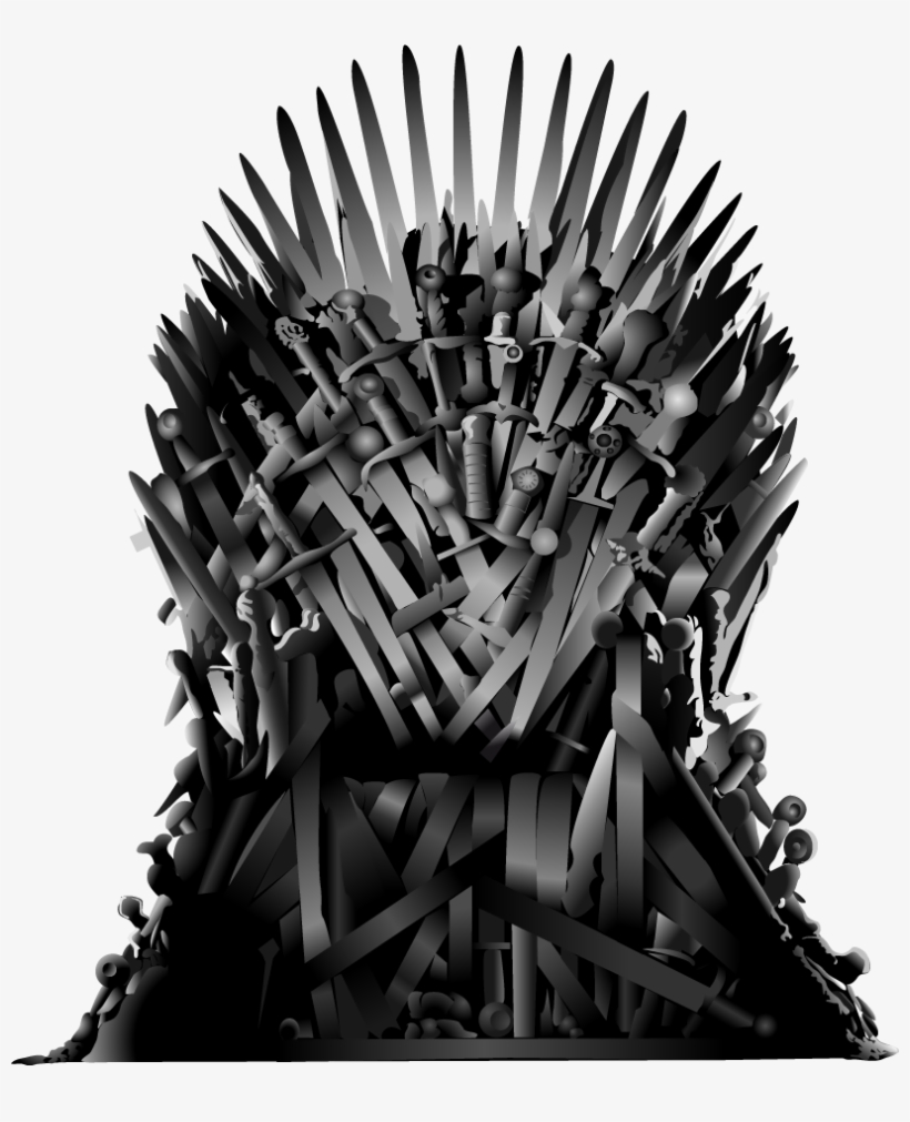 Game Of Thrones Iron Thrones Png - Iron Throne Png - Game Of Thrones Throne Png Transparent PNG ...