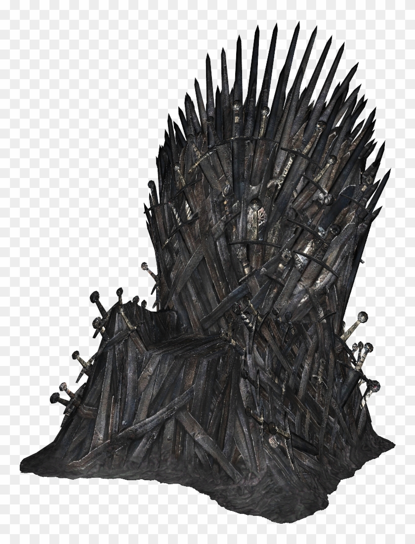 Game Of Thrones Iron Thrones Png - Iron Throne Png - Game Of Thrones Throne Png, Transparent Png ...