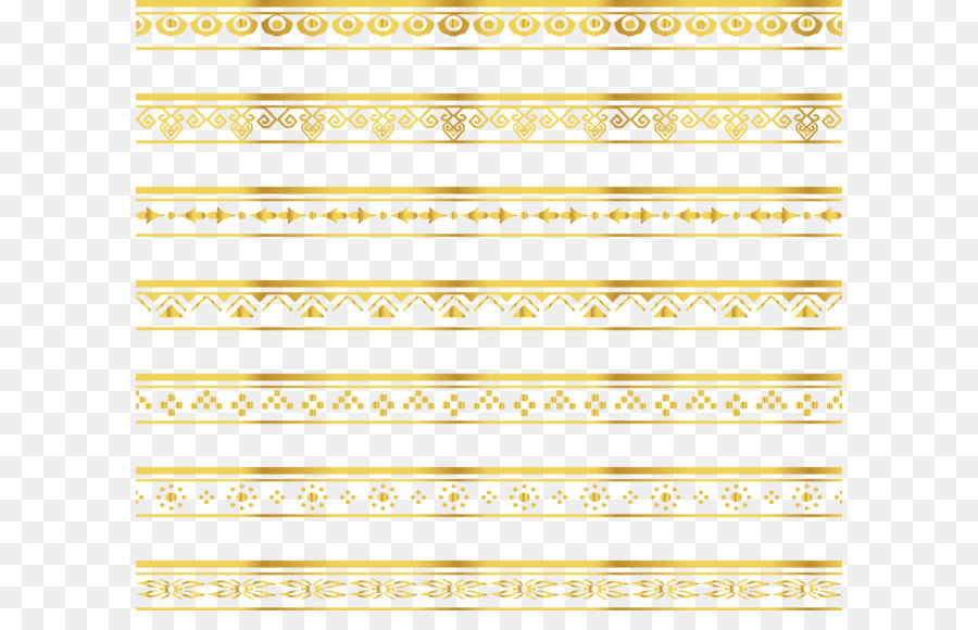 Gold Lace Ribbon Png - Islamic Gold Background png download - 4167*3601 - Free ...