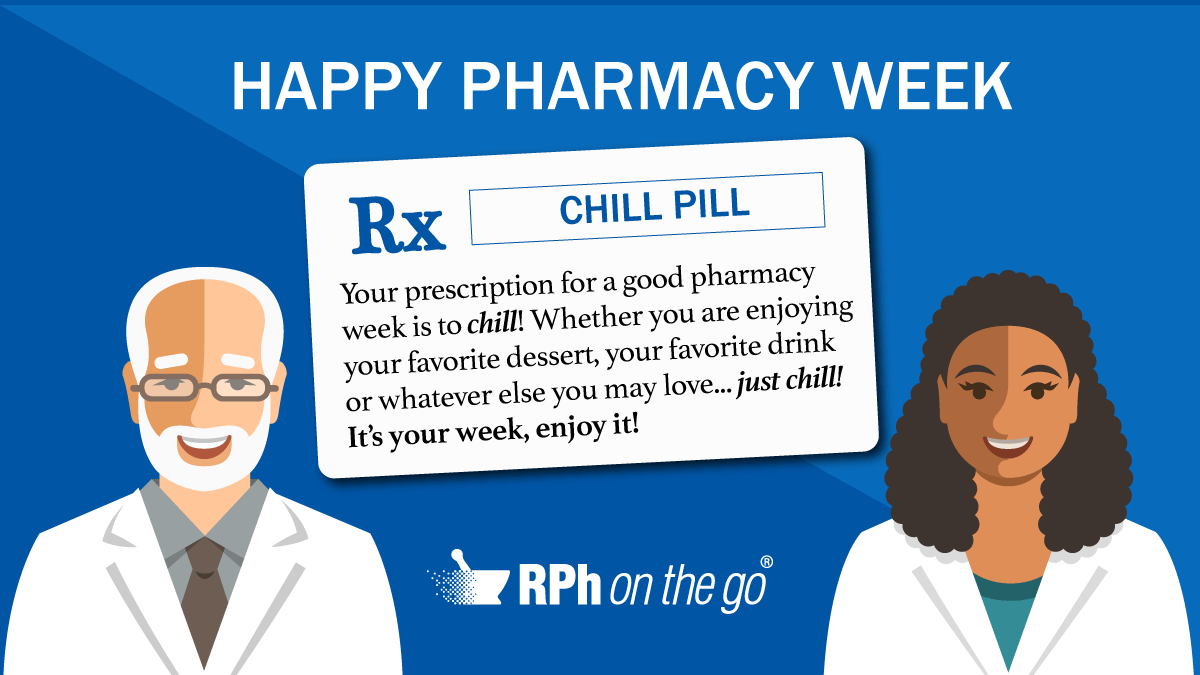 Pharmacy Week Png - It's Time to Chill: National Pharmacy Week — RPh on the Go - The ...