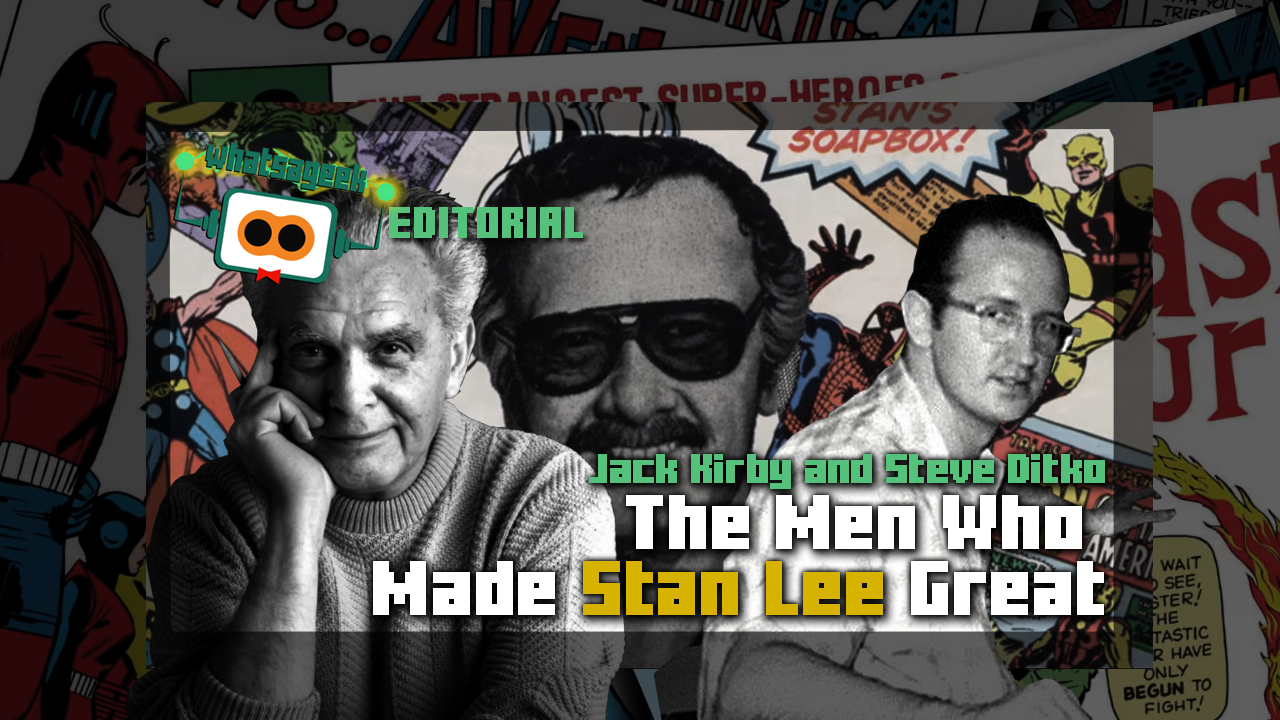 Steve Ditko Png - Jack Kirby and Steve Ditko: The Men Who Made Stan Lee Great