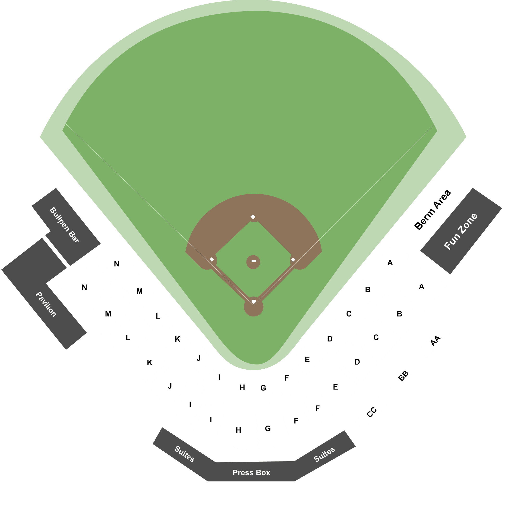 Ballpark At Jackson Png - Jackson Generals vs. Birmingham Barons Tickets | The Ballpark at ...