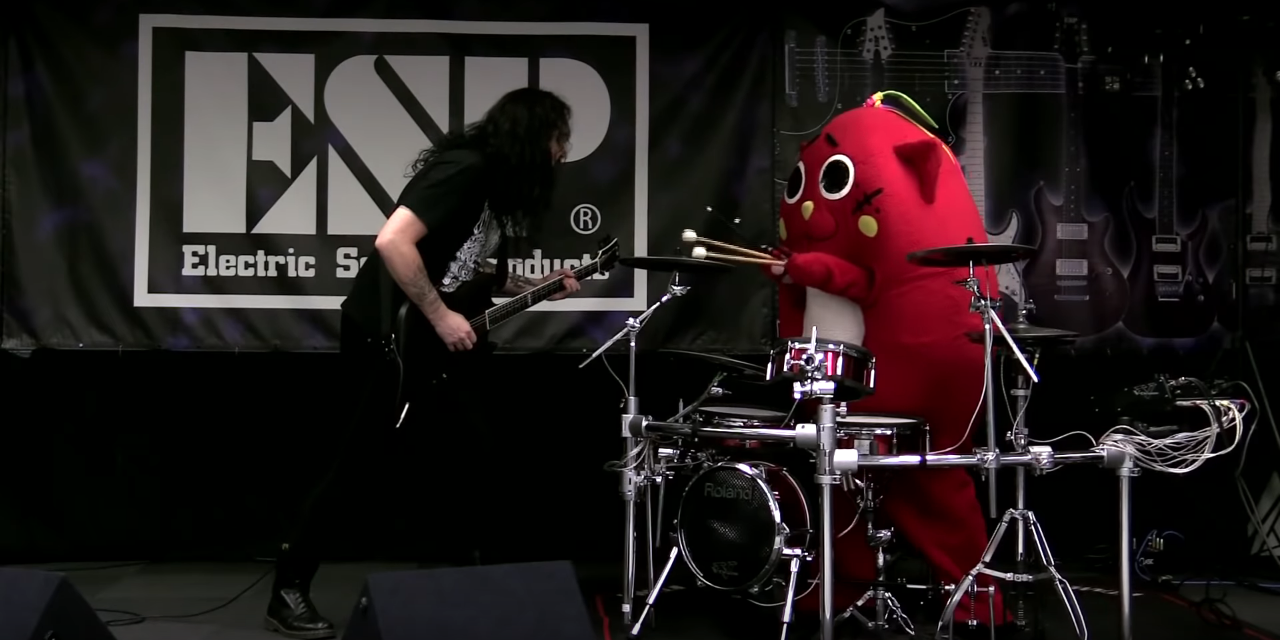 Metal Man Mascot Png - Japanese Mascot Drummer Nyango Star Makes Western Meme Debut