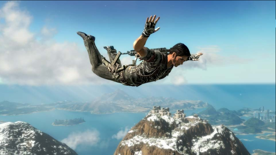 Free Fall Png - JC2 freefall.png