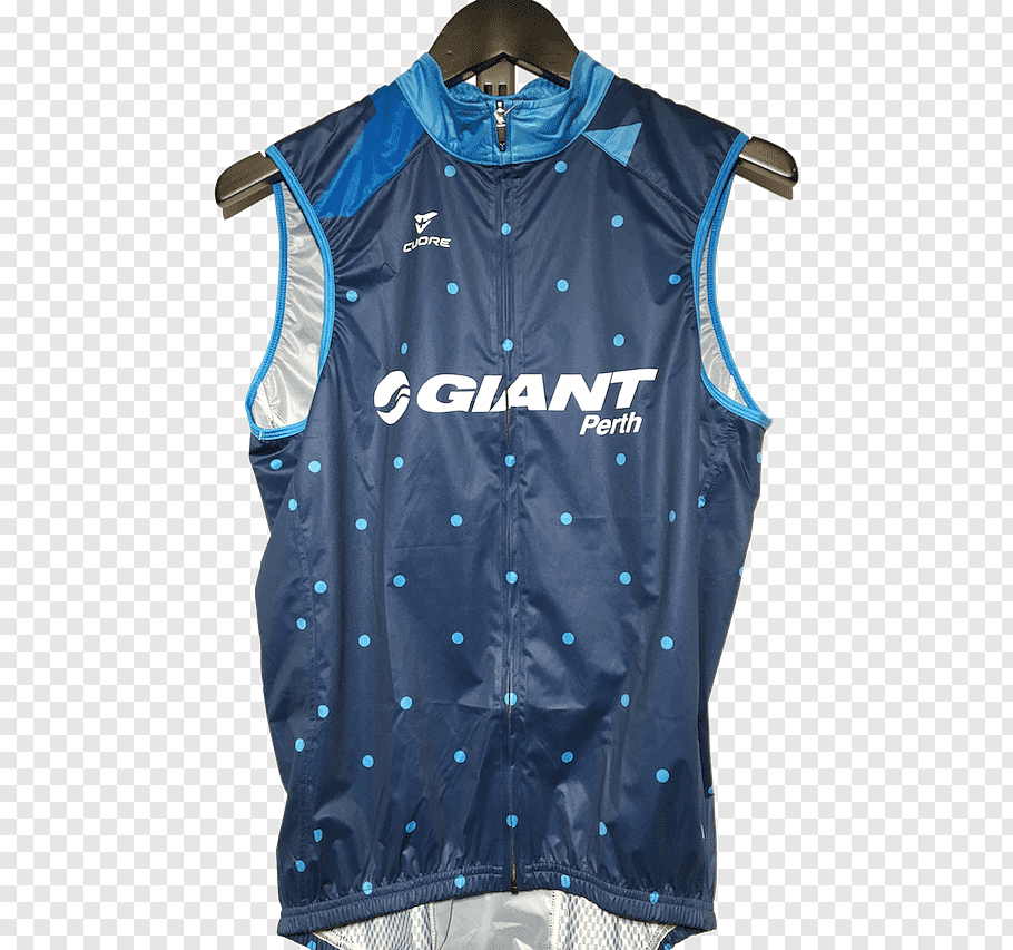 Jersey Giant Png - Jersey Giant Perth Sleeve Gilets Giant Bicycles, Men Vest PNG ...