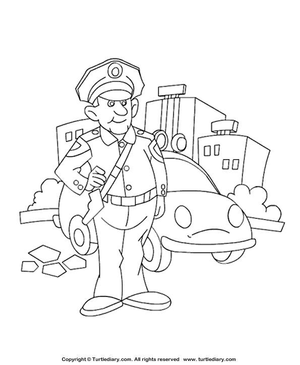 Free Printable Community Helper Coloring Pages For Kids | 725x595