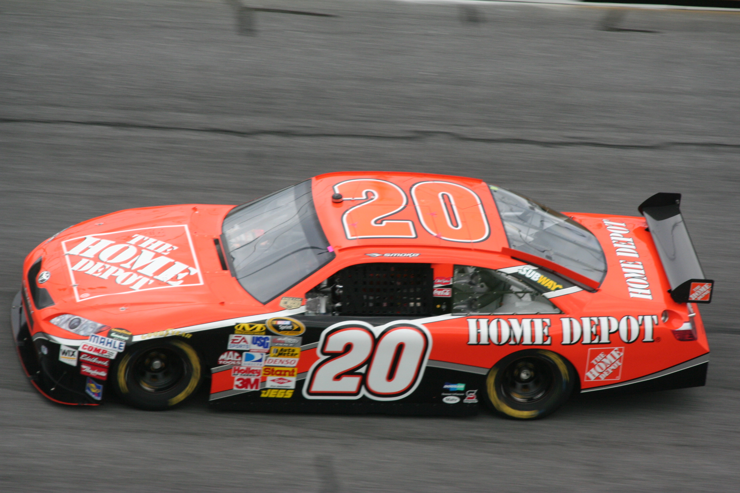 Nascar Home Depotrace Car Png - Joe Gibbs Racing - Wikiwand