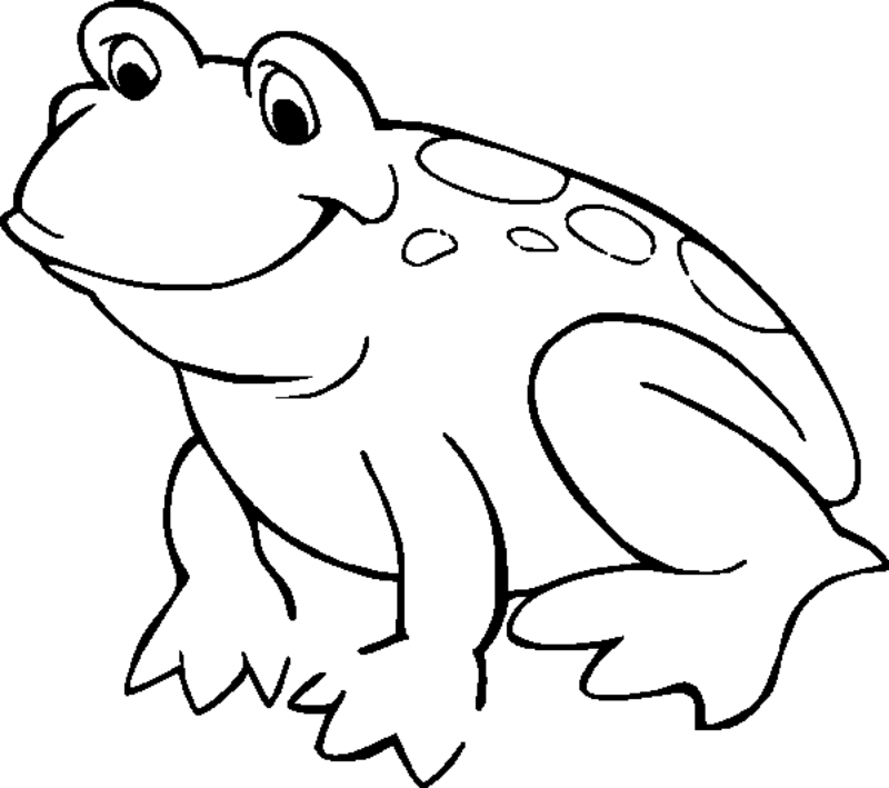 Free Printable Frog Coloring Pages For Kids | 709x800