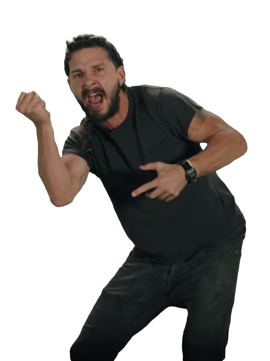 It Png - Just Do It Shia LaBeouf Fist Transparent #993701 - PNG Images - PNGio