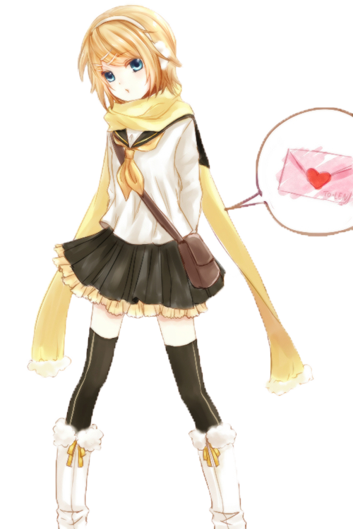 Kagamine Rin Png Hd - Kagamine Rin PNG By KirisakiRirin On Dev #587082 - PNG Images - PNGio