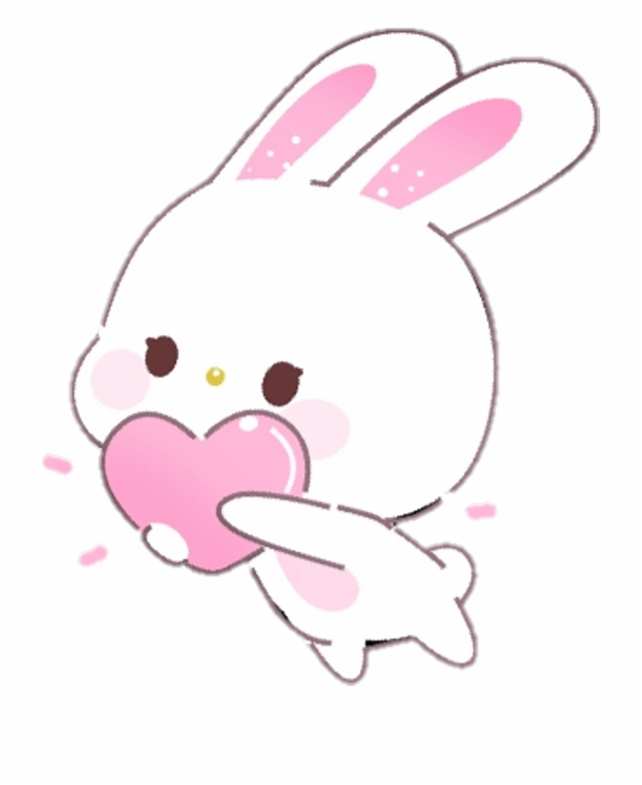 kawaii bunny download free clipart with a transparent kawaii kawaii transparent background 920 1125