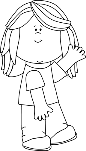 Kids Clothes Png Black And White - Kids Clip Art - Kids Images