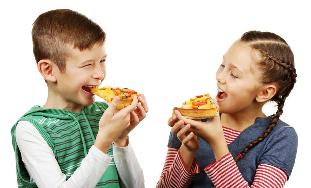 Kids Eating Pizza Png Amp Free Kids Eating Pizza Png