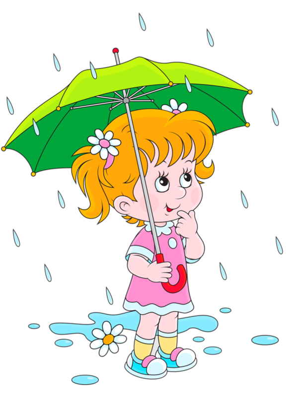 Little Girl Playing In Rain Png - Kids Playing In Rain Clipart Collection #430944 - Clipartimage.com
