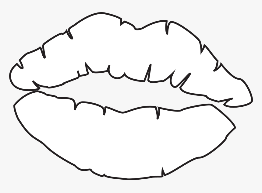 Kiss Lips Coloring Pages 2086540 Png Images Pngio