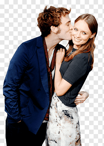 Cheek Kissing Png - Kiss on the cheek transparent png images | PNGBarn