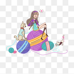 Knitting Woolen Knitting Crafts Png I 55159 Png Images Pngio