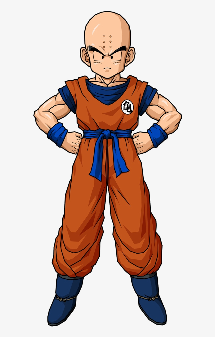 Krillin Orange Gi Dragon Ball Z Krilli 692735 Png